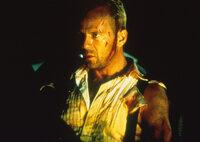 Nur ein Mann kann den Sieg des Anti-Elements noch verhindern: Korben Dallas (Bruce Willis) ...