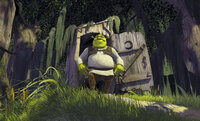Es war einmal in einem dunklen Sumpf. Dort lebte ein hässliches grünes Monster: Shrek, der Oger ...