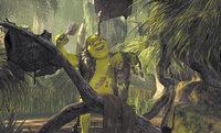 Es gibt kaum etwas schöneres als ein richtiges Schlammbad - zumindest für Oger Shrek ...