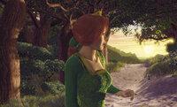 """Ein wehmütiger Blick zurück in die """"Freiheit"""": Prinzessin Fiona ist der Gedanke, einen Unbekannten heiraten zu müssen, nicht besonders wohl ..."""