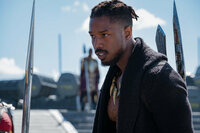Black Panther Michael B. Jordan als Erik Killmonger SRF/Marvel 2018
