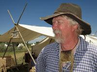 Geschichtsfans wie Bryan Youngberg aus Wymoning leben bei Trappertreffs und Pionier-Wochenenden die frühen Tage des Oregon Trail nach.