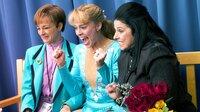 1991 gewann Tonya Harding (Margot Robbie, Mitte) die US-amerikanische Meisterschaft im Eiskunstlauf und war die erste Frau, der im Rahmen eines Wettbewerbs ein dreifacher Axel gelungen war.