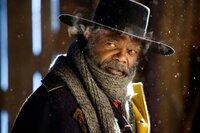 Marquis Warren (Samuel L. Jackson) ist ein ehemaliger Soldat und nun Kopfgeldjäger.