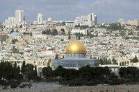 Dome of the Rock, Jerusalem.