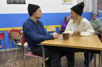 Florian Sosnowski und Sissy Metzschke im Interview Bahnhofsmission