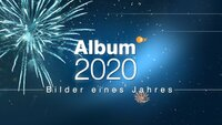 """Logo """"Album 2020""""."""