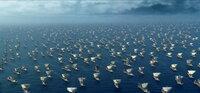 Die Rache lässt nicht lange auf sich warten. Tausende griechischer Kriegsschiffe landen an den trojanischen Gestaden ...