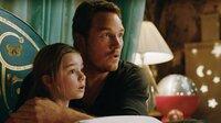 Maisie (Isabella Sermon), Owen Grady (Chris Pratt)  Die Verwendung des sendungsbezogenen Materials ist nur mit dem Hinweis und Verlinkung auf TVNOW gestattet.