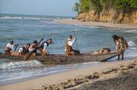 1799 ist es endlich soweit: Humboldt und Bonpland erreichen nach 41 Tagen auf See Südamerika. Eigentlich hatten sie nach Havanna segeln wollen, aber zahlreiche Krankheitsfälle an Bord zwangen den Kapitän, den ersten erreichbaren Hafen anzusteuern: Cumaná im heutigen Venezuela.