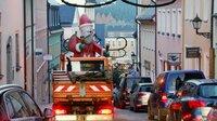 Transport Weihnachtsmann (Archivbild)