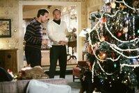 Clark (Chevy Chase, l.); Eddie (Randy Quaid, r.)