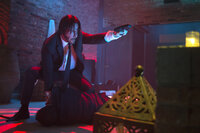 Steht auf Anzug mit Krawatte und dem Ableben seiner Gegner: Hitman John Wick (Keanu Reeves) auf seinem ultimativen Rachefeldzug ...