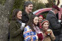 Die Familie Baxter (v.l.n.r: Jodelle Ferland, Ellie Harvie, Doug Murray, Christian Martyn) muss kurz vor Weihnachten einigen Trubel überstehen. Kkönnen sie trotzdem ein harmonisches Weihnachtsfest feiern?