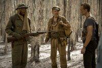 (v.l.n.r.) Preston Packard (Samuel L. Jackson); Hank Marlow (John C. Reilly); James Conrad (Tom Hiddleston)