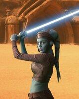 Als sich etliche Planetensysteme unter der Führung des ehemaligen Jedi-Meisters Count Dooku von der Republik abspalten, verliert das Machtgefüge der Jedis an Einfluß. Für die junge Senatorin Padmé Amidala (Natalie Portman) beginnt ein gnadenloser Wettlauf mit der Zeit ...