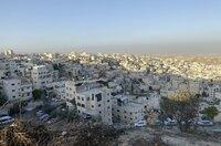 Blick auf Jerusalem.
