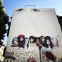 Streetart in Florentin, dem wohl ?hippsten? Stadtteil Tel Avivs.