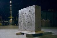 Innovationen für Morgen Öko-Beton Öko-Beton Block in der ETH Werkstatthalle SRF