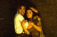 Kämpfen erneut gegen den Hohenpriester Imhotep: Rick (Brendan Fraser, l.) und Evelyn (Rachel Weisz, r.) ...