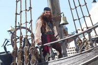 Ein böse Pirat (Antonio Banderas) klaut die geheime Krabbenburger-Formel und stellt damit Bikini Bottom auf den Kopf. Für Spongebob und seine Freunde beginnt ein Abenteuer jenseits des Ozeans ...