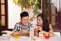 Stockfotografie junges asiatisches Paar