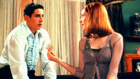Jim Levenstein (Jason Biggs, l.); Michelle Flaherty (Alyson Hannigan, r.)