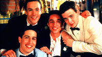 (v.l.n.r.) Jim Levenstein (Jason Biggs); Chris 'Oz' Ostreicher (Chris Klein); Kevin Myers (Thomas Ian Nicholas); Paul Finch (Eddie Kaye Thomas)