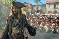 Johnny Depp (Capt. Jack Sparrow).