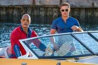 Mitch Buchannon (Dwayne 'The Rock' Johnson), Matt Brody (Zac Efron).