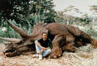 Mit Dinosaurier - Regisseur