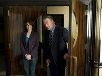 1. Staffel: Jack Donaghy (Alec Baldwin) und Liz Lemon (Tina Fey)
