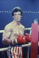 Rocky (Silvester Stallone) ist überzeugt, den Kampf zu gewinnen