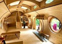 Waldkindergarten Tiny House des Herstellers Michael Hess aus Breisach.