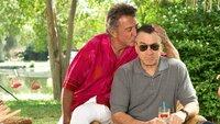 Bernie Focker (Dustin Hoffman, li.) und der konservative Jack Byrnes (Robert de Niro)