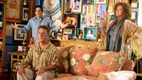 Greg (Ben Stiller) und seine Hippie-Eltern Roz (Barbra Streisand) und Bernie (Dustin Hoffmann)