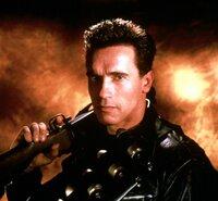 Der Terminator (Arnold Schwarzenegger) wurde von einer Widerstandsbewegung der Zukunft umprogrammiert und durch die Zeit zurückgeschickt. Sein Ziel ist es, einen Jungen zu schützen.