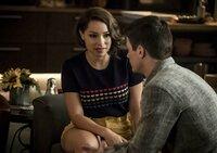 Jessica Parker Kennedy (Nora West-Allen), Grant Gustin (Barry Allen)
