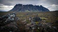 Der Vulkan Tuya im Südwesten von Island