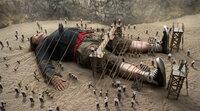 Als Riese im Land der Liliputaner hat Lemuel Gulliver (Jack Black) es nicht leicht ...