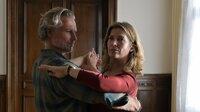 Katharina Wegener (Valerie Niehaus) passt es überhaupt nicht, dass plötzlich ihre Jugendliebe Juri Hoffmann (Dirk Borchardt) im Tanzkurs auftaucht.