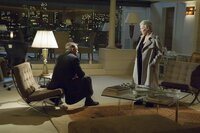 James Bond (Daniel Craig), M (Judi Dench)
