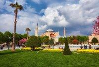 Exterior of the Hagia Sophia, Istanbul
