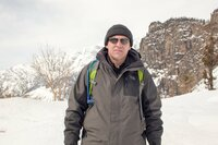 Don Kogen trekking in the Himalayas.