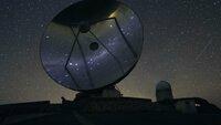 Stars reflected on Satellites Dishes