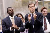 Wahlkampf: Die Freunde Russell McCormack (Derek Luke, l.) und Will Hayes (Ryan Reynolds) applaudieren ihrem Kandidaten.