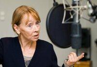 """MDR Hörspielproduktion """"Keine weiteren Vorkommnisse"""" von Günter Kunert. Jutta Hoffmann als Selma Weber."""