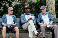 (v.l.n.r.) Albert Garner (Alan Arkin); Willie Davis (Morgan Freeman); Joe Harding (Michael Caine)