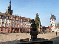 Das Schloss Erbach.