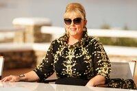 Jurymitglied Maite Kelly beim Auslands-Recall auf Mykonos.
